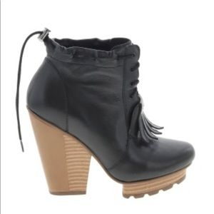 Timo Weiland 4 Tsubo Oxford Booties Boots Size 6
